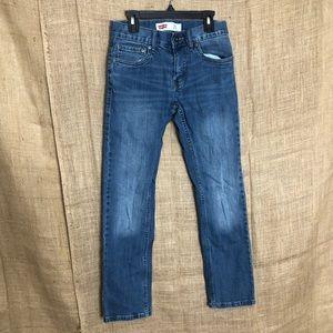 Levi's 511 Slim 12 Kids Jeans School Dark Wash